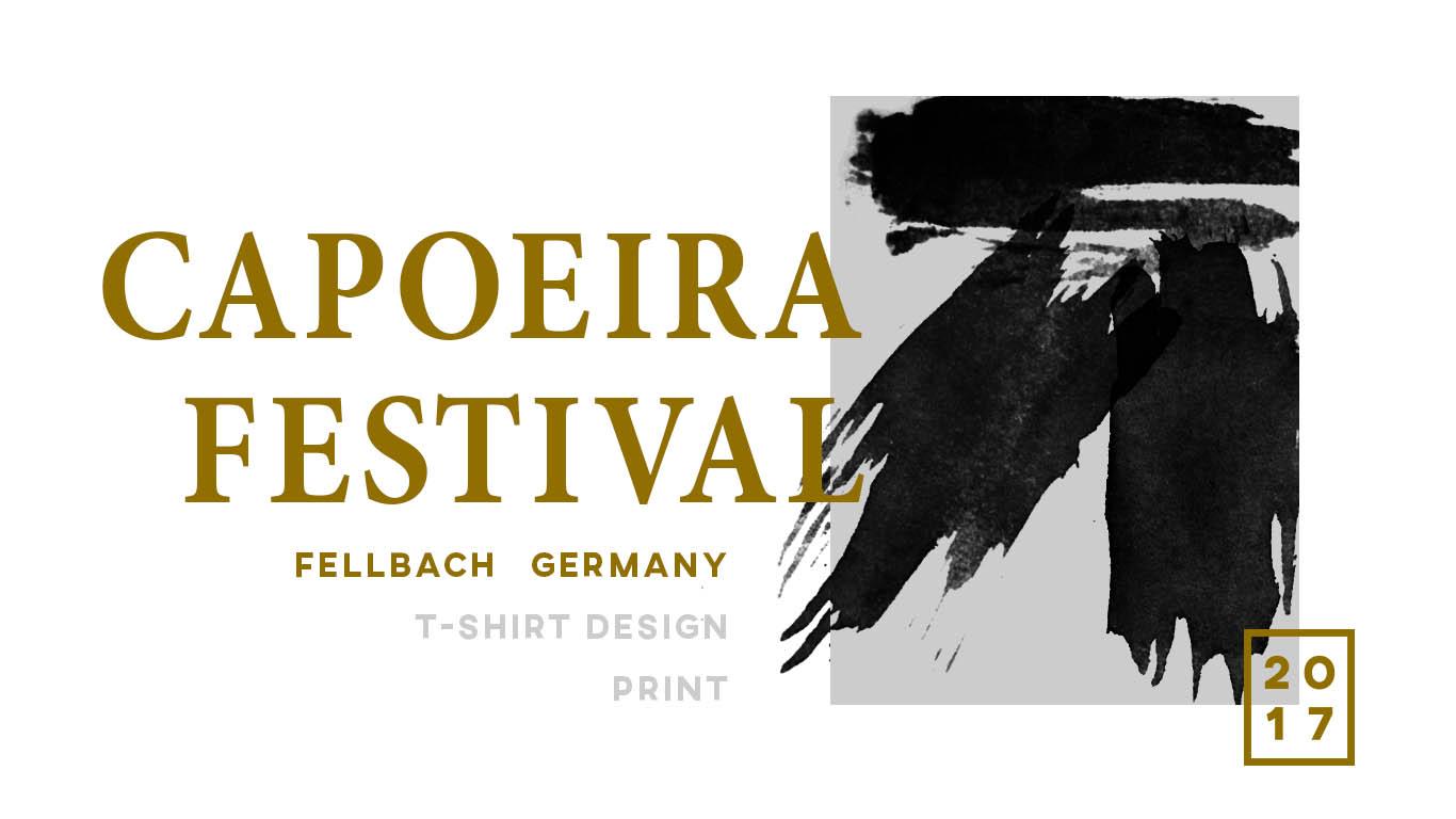 Steve Slawik Design, Capoeira Festival, Corporate Design Präsentation, Vorschau